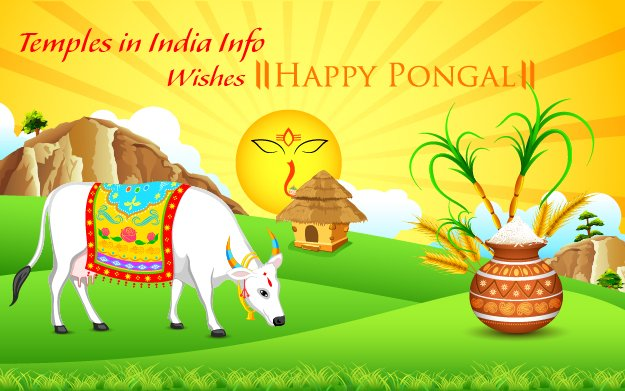 Happy Pongal Temples in india info