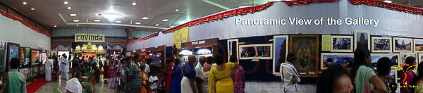 Panoramic View of the Gallery