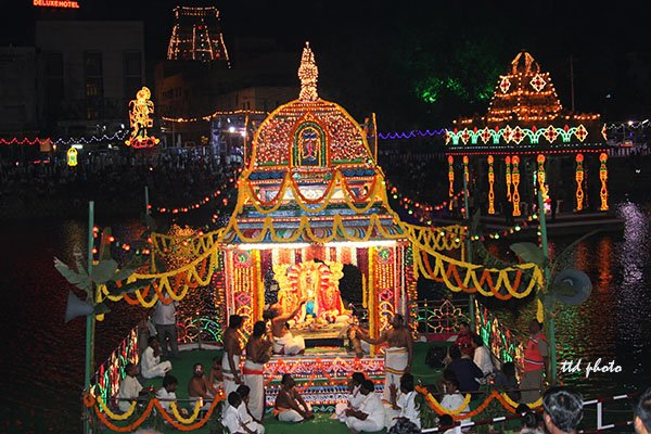 Sri Govindaraja Swamy-float-festival