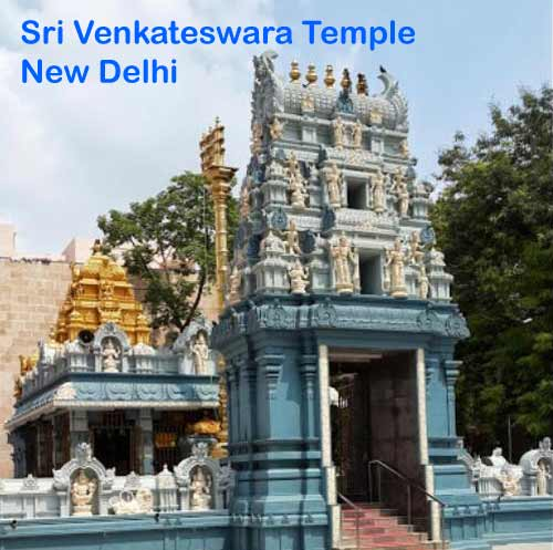 Sri Venkateswara(Lord Balaji) Temple, New Delhi