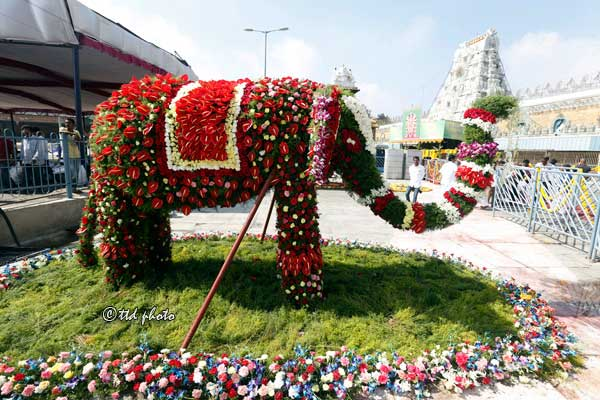 Elephant-flower-decoration