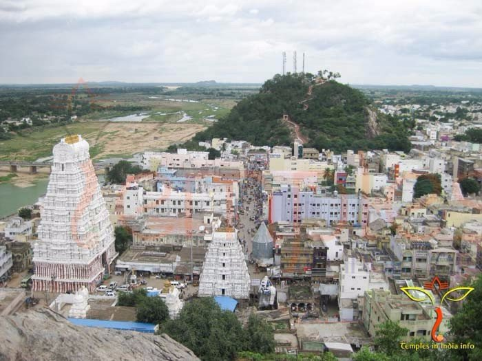 Sri Kalahasti Kalahasteeswara Swamy Temple view