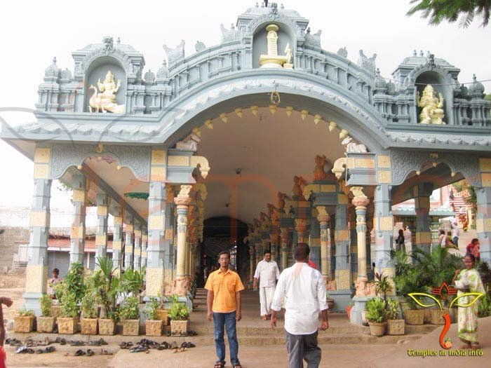 Sri Kalahasti TempleTemple Back Entrance