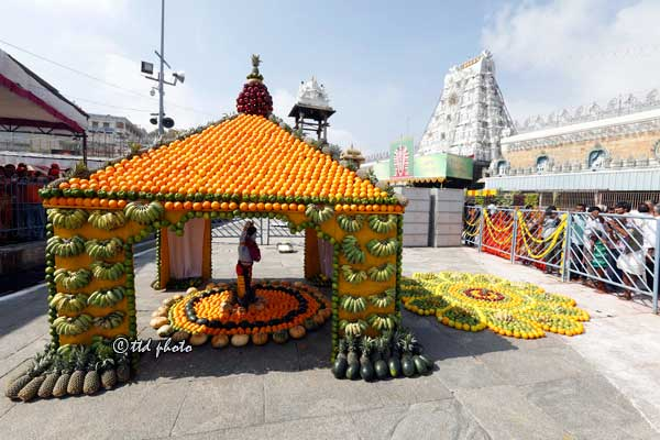 fruits-tent-tirumala-Ugadi