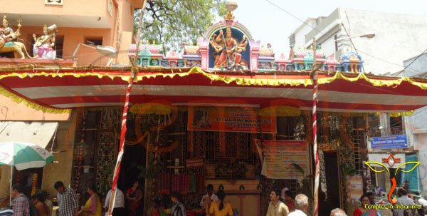 Sri Ujjaini Mahankali Temple Entrance