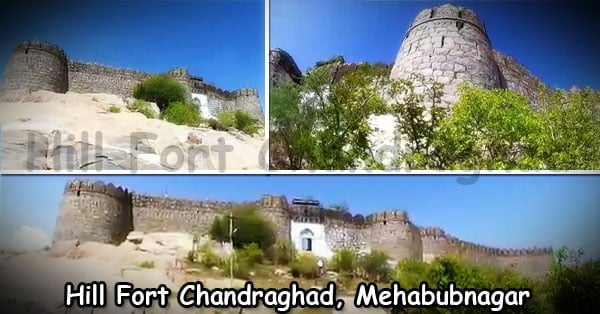 Hill Fort Chandraghad Mehabubnagar