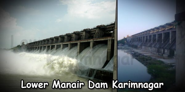 Karimnagar Lower Manair Dam