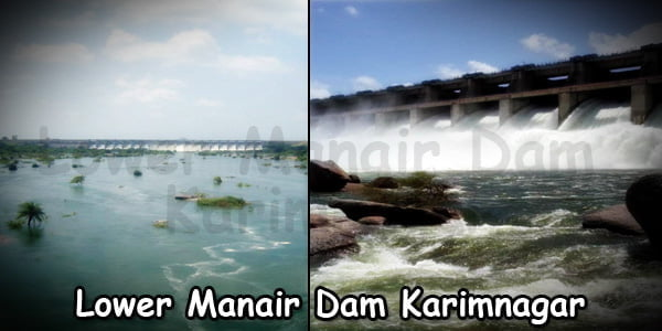 Lower Manair Dam Karimnagar
