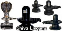 Lord Shiva Lingams