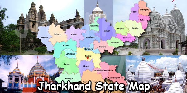jharkhand-state-map