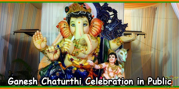 Ganesh Chaturthi Celebration in Public