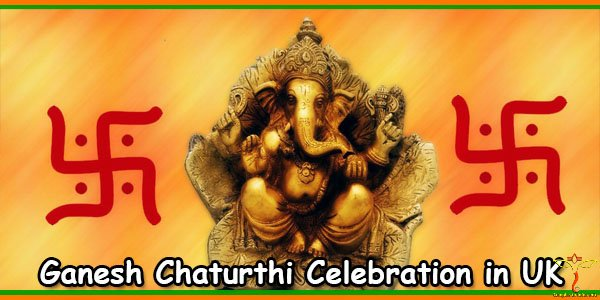 Ganesh Chaturthi Celebration in UK