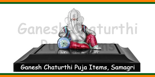 Ganesh Chaturthi Puja Items, Samagri – Temples In India Information