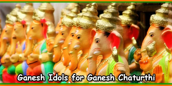 Ganesh Idols for Ganesh Chaturthi