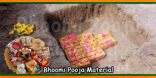 Bhoomi Pooja Material | Bhumi Puja Items List – Temples In India
