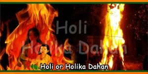 Holi or Holika Dahan