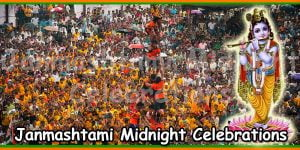Janmashtami Midnight Celebrations