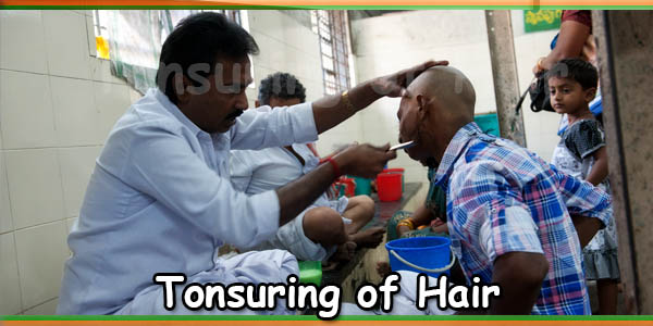 Tonsuring of Hair