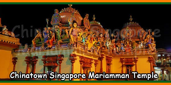 Chinatown Singapore Mariamman Temple