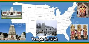 Temple in USA