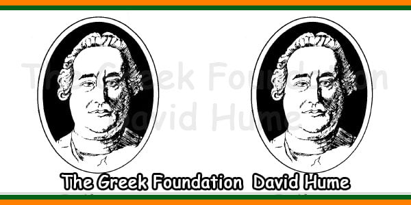 The Greek Foundation  David Hume