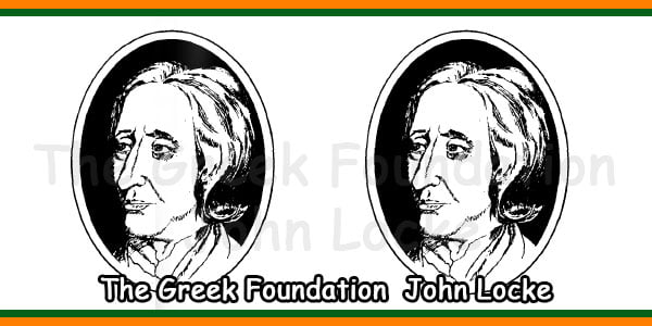 The Greek Foundation John Locke