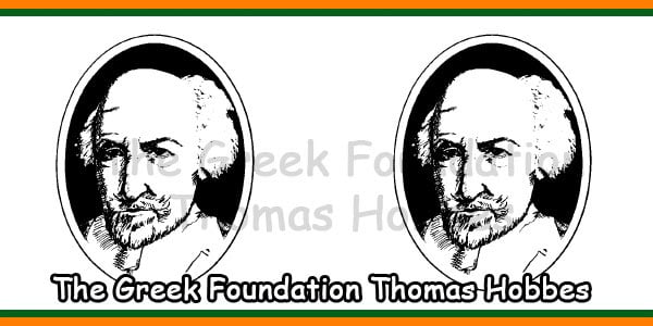 The Greek Foundation Thomas Hobbes