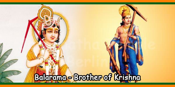 Balarama Brother of Krishna