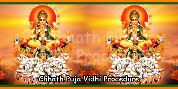 Chhath Puja Vidhi Procedure