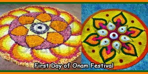 First Day of Onam Festival