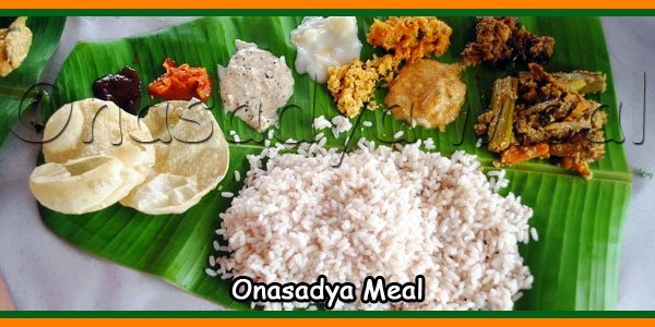 Onasadya Meal - Onam Food Vareties