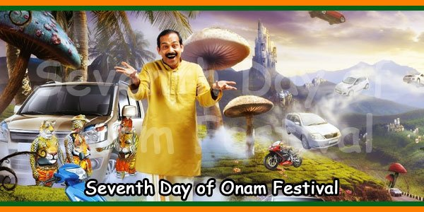 Seventh Day of Onam Festival