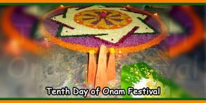 Tenth Day of Onam Festival