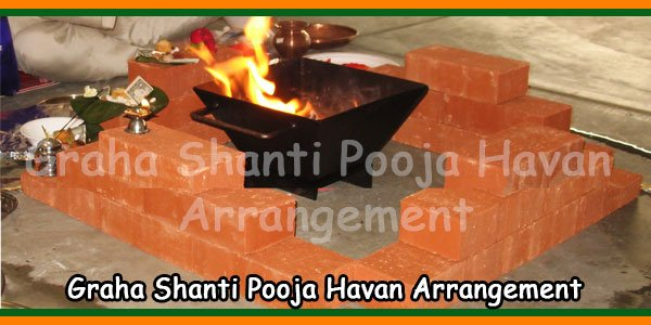Graha Shanti Pooja Havan Arrangement