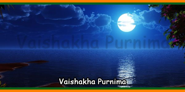 Vaishakha Purnima