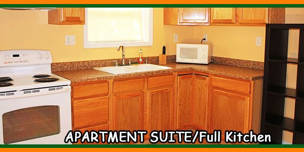 APARTMENT SUITE-Full Kitchen