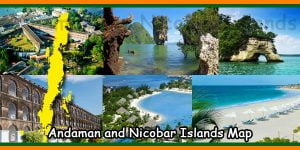 Andaman and Nicobar Islands Map