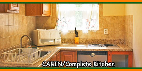 CABIN-Complete Kitchen