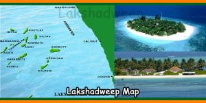 Lakshadweep Map