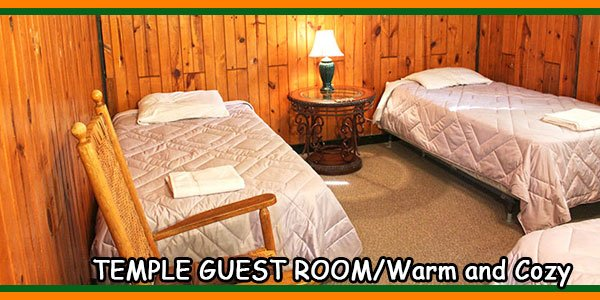 TEMPLE GUEST ROOM-Warm and Cozy