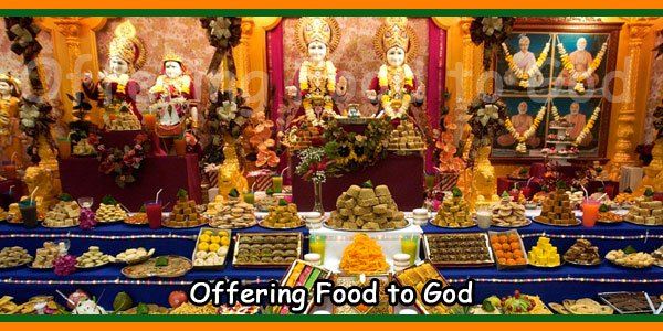 Offering Food to God