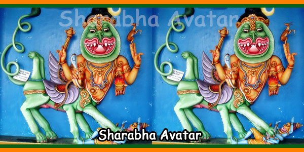 Sharabha Avatar