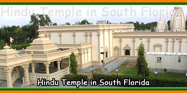 Hindu Temple in South Florida