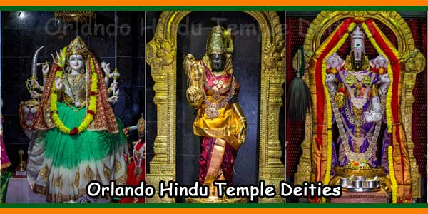 Hindu Society of Central Florida Deities