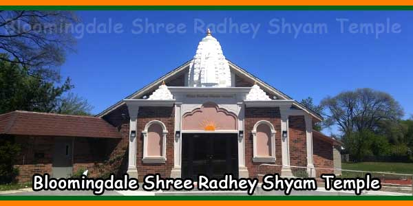 Bloomingdale Shree Radhey Shyam Temple
