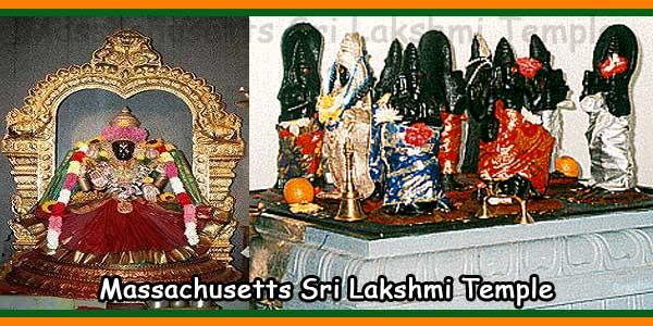 Massachusetts Sri Lakshmi Temple