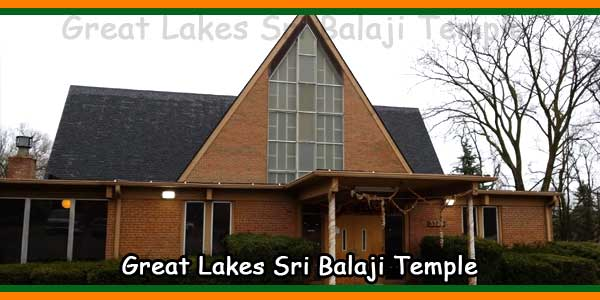 Great Lakes Sri Balaji Temple