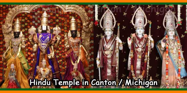 Hindu Temple in Canton -Michigan