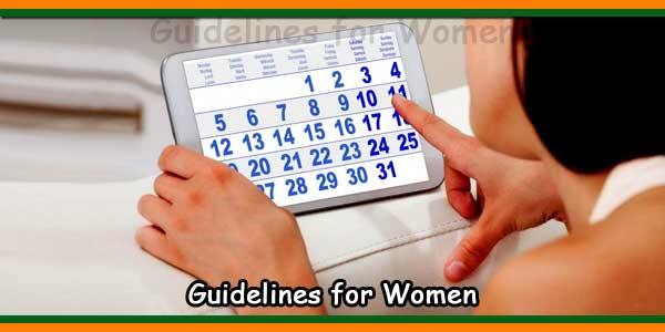 Guidelines for Women