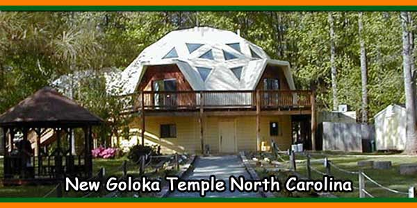 New Goloka Temple North Carolina